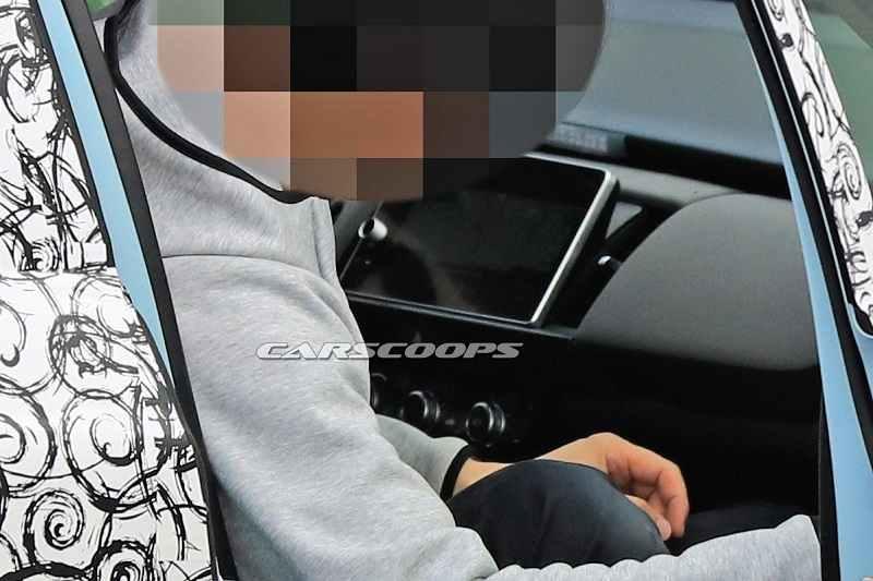 2020 Honda Jazz Spied interior