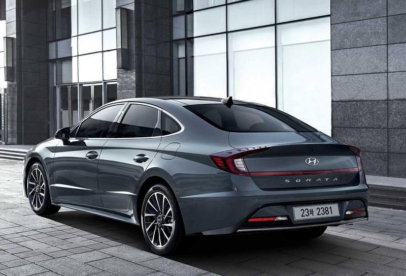 2020 Hyundai Sonata rear