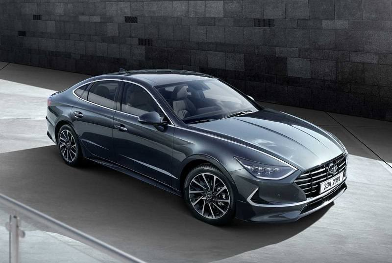 Hyundai offers first look at next Sonata to be built in Alabama