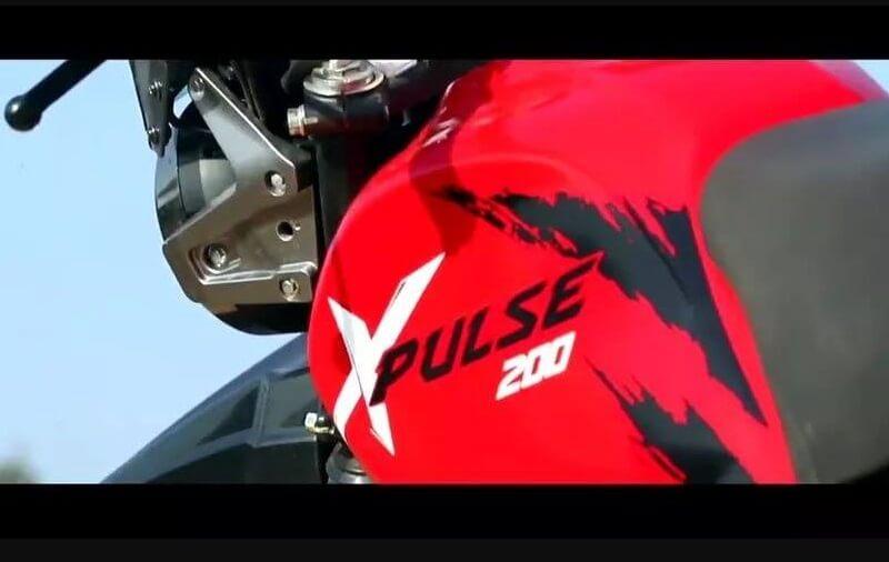 Hero XPulse 200 Fuel tank