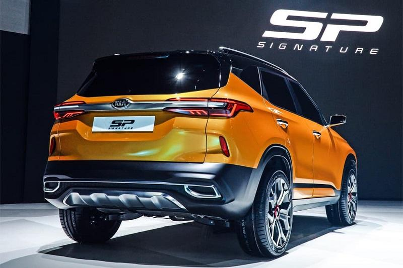 Kia SP Signature rear