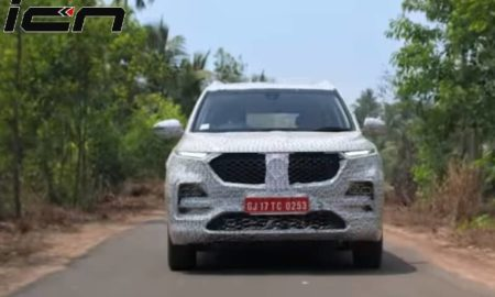 MG Hector SUV New Teaser (1)