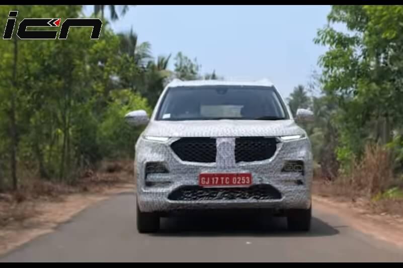 MG Hector SUV New Teaser (1)