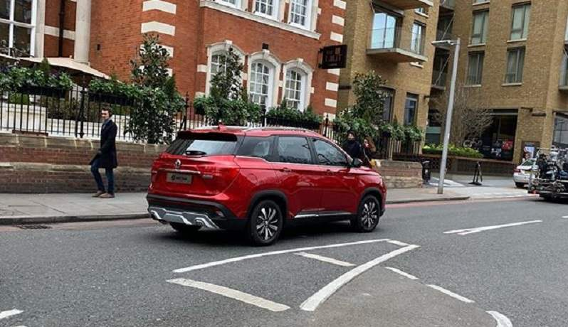 MG Hector SUV Revealed Rear