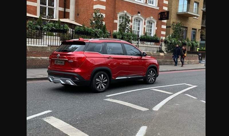 MG Hector SUV side