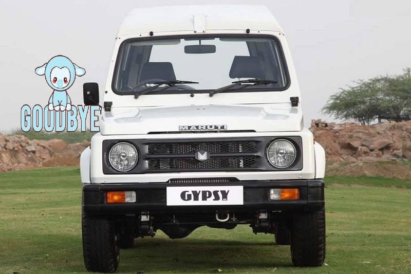 Maruti Suzuki Gypsy Discontinued