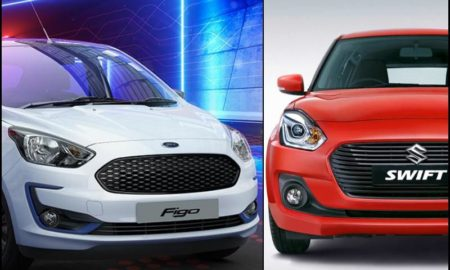 New Ford Figo 2019 Vs Maruti Swift