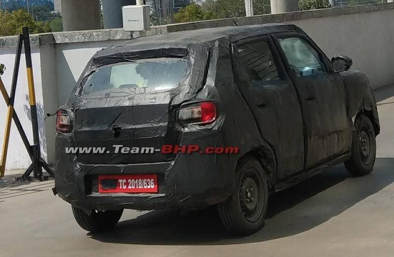 New Maruti SUV rear