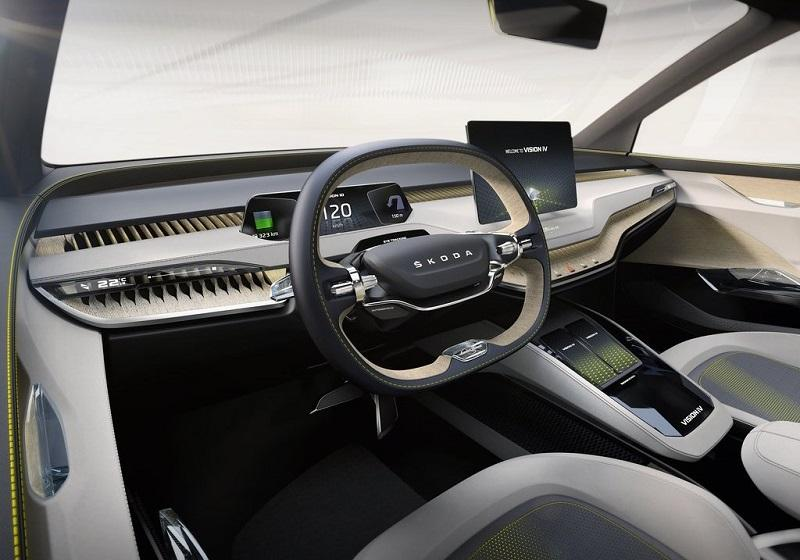 Skoda Vision iV interior