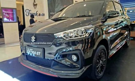 Suzuki Ertiga GT revealed