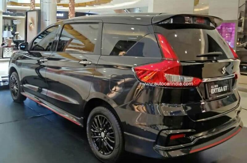 Suzuki Ertiga GT revealed Side