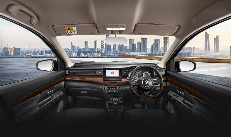 Suzuki Ertiga Sport Interior