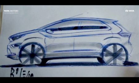 Tata Altroz Design Sketch