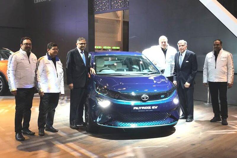 Tata Altroz EV hatchback