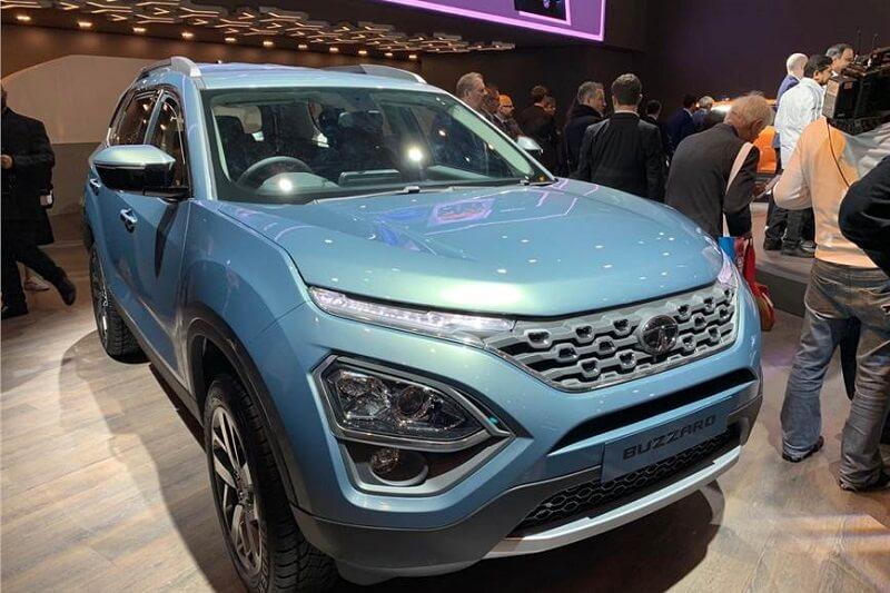 Tata Buzzard 7 seater SUV