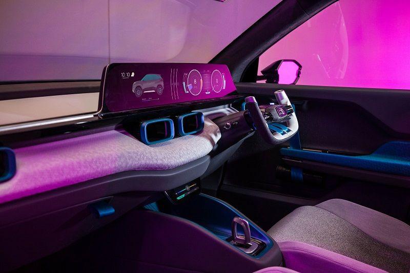 Tata H2X Dashboard