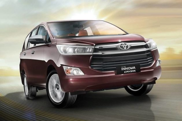 Toyota Innova Crysta G Plus