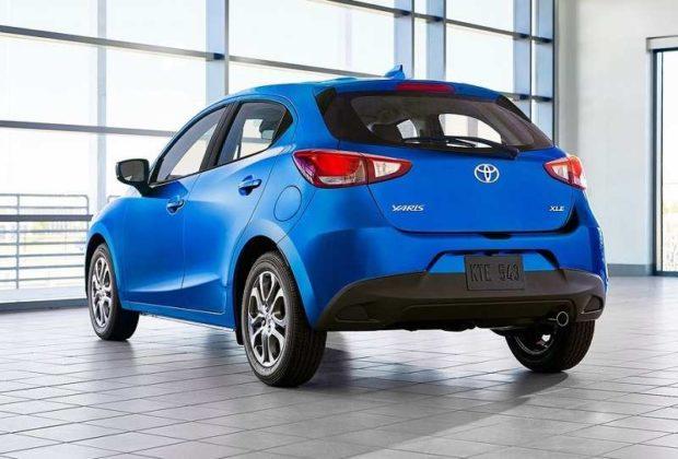 2020 Toyota Yaris rear
