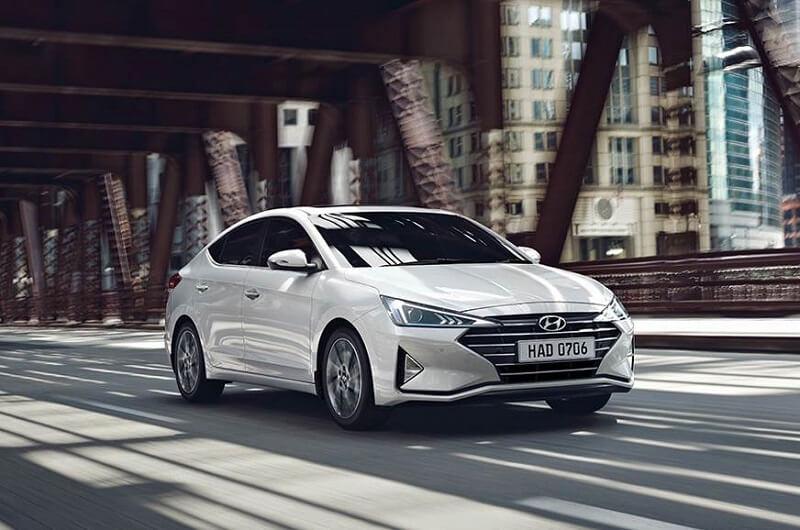Hyundai Elantra facelift India front