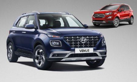 Hyundai Venue 1.0L Vs Ford EcoSport
