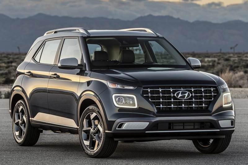 Hyundai Venue Black