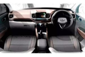 Hyundai Venue Dashboard