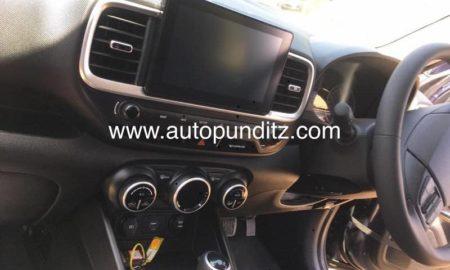 Hyundai Venue Interior Leaked