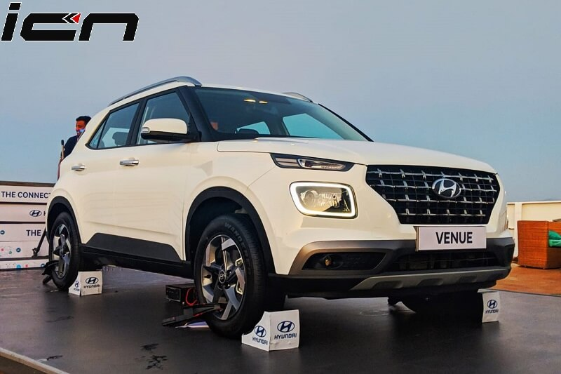 Hyundai Venue Officially Unveiled In India Pictures Launch Details