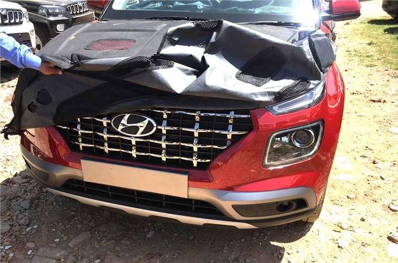 Hyundai Venue Leaked