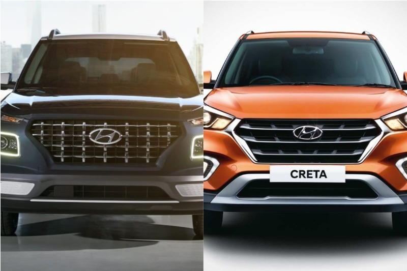 Hyundai Venue Vs Creta