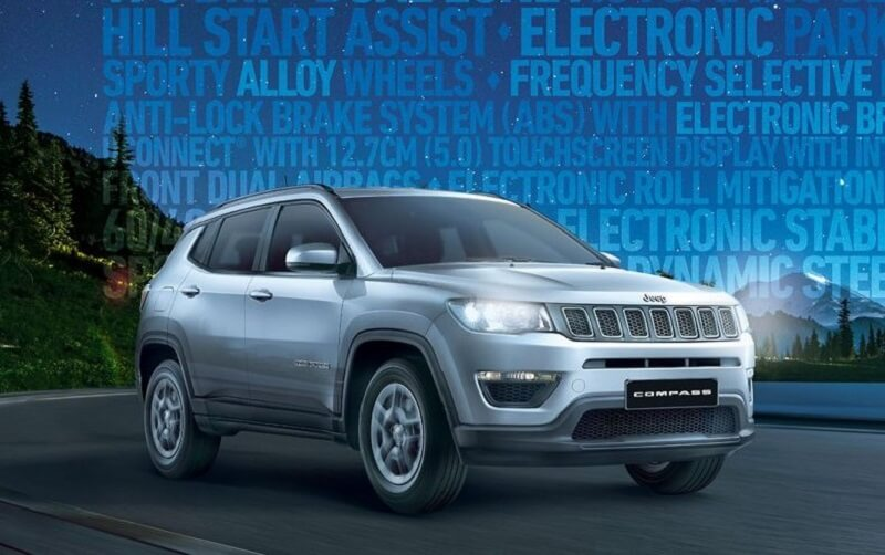 Jeep Compass Sport Plus Price