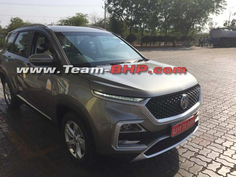 MG Hector Fully revealed side
