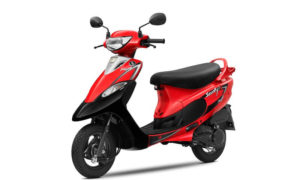 TVS Scooty_Red