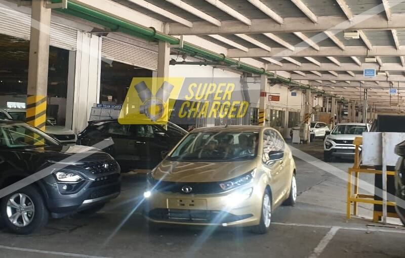 Tata Altroz Production Model Spied