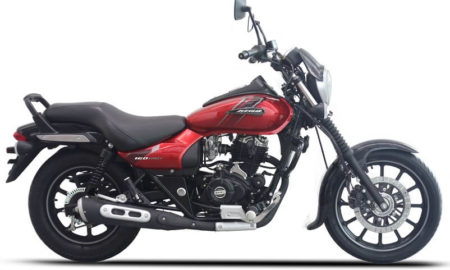 Avenger Street 160 ABS Spicy Red