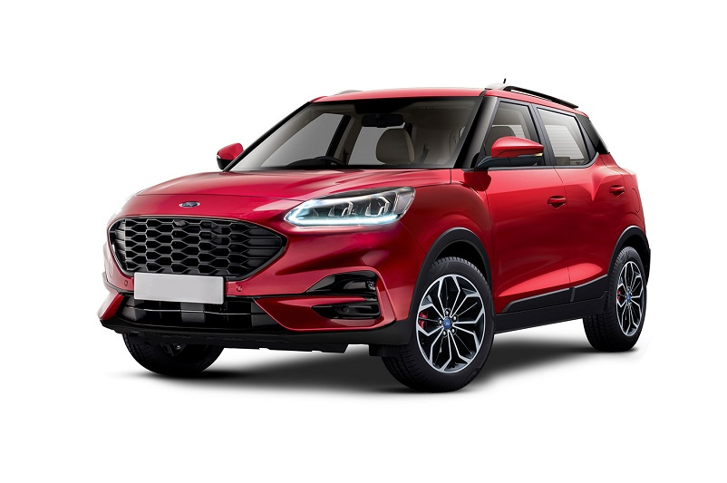 Ford Compact SUV rendered