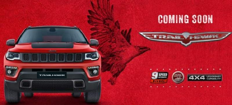 Jeep Compass Trailhawk Teased