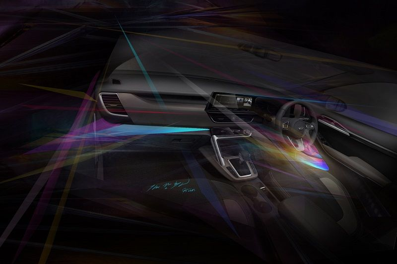 Kia Sp2i Interior Mood Lighting India Car News