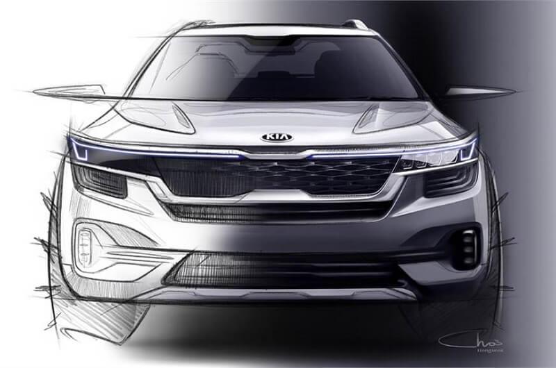 Kia SP2i design sketch