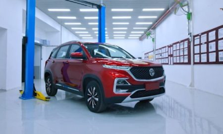 MG Hector Red