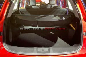 MG Hector Spy Images rear