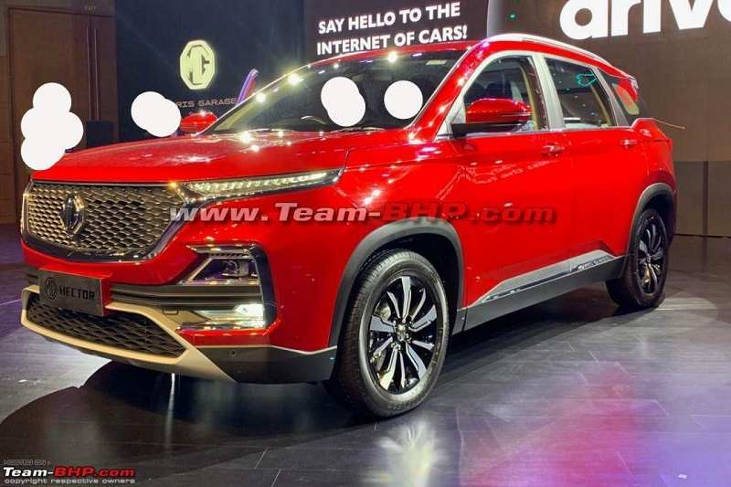 MG Hector Spy Images