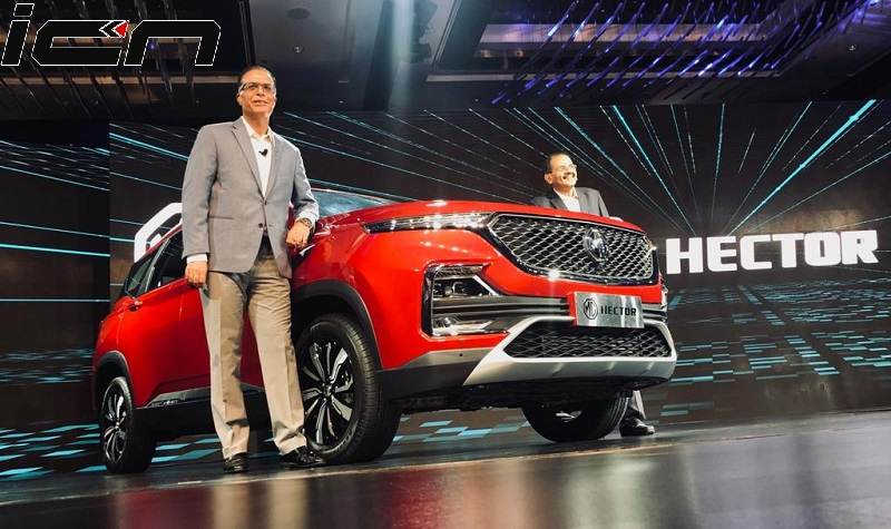 MG Hector Unveiled Price
