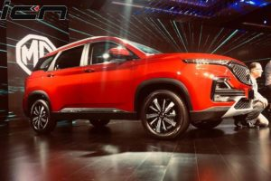 MG Hector Unveiled Specs