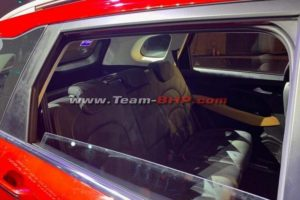 MG Hector rear seat images