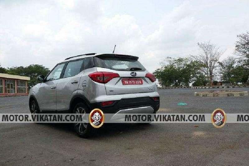 Mahindra XUV300 BS6 Spied