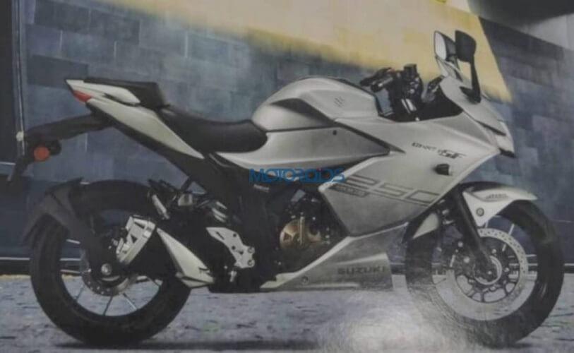 Suzuki Gixxer SF 250 Leaked