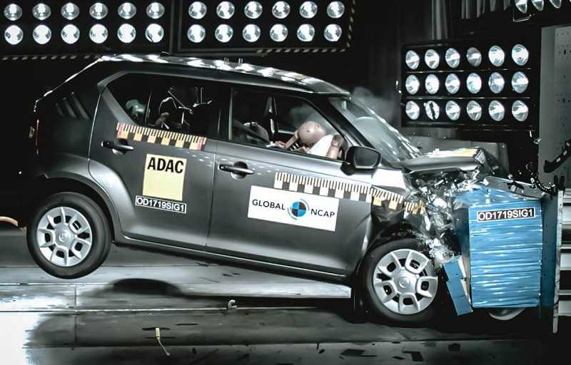 Suzuki Ignis Crash Test