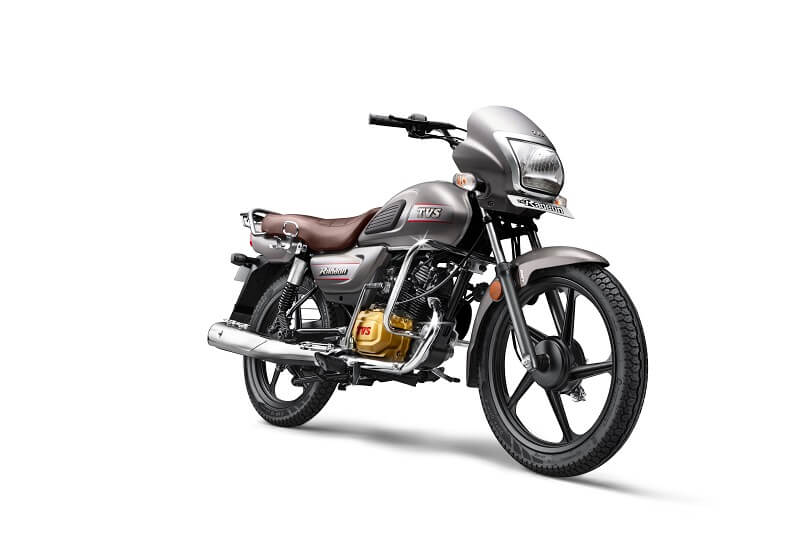 Tvs Radeon 110cc Motorcycle Gets 2 New Colours Price Rs