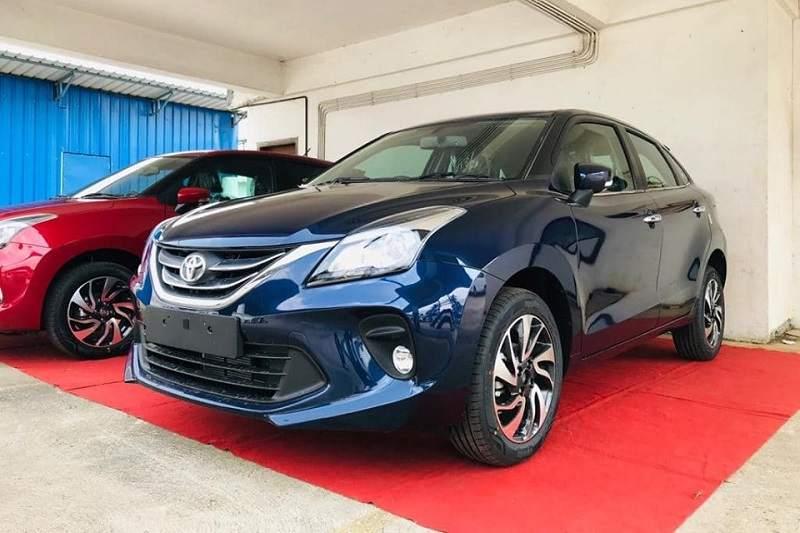 Toyota Glanza Blue